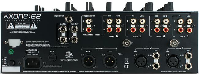 Allen Amp Heath Xone 62