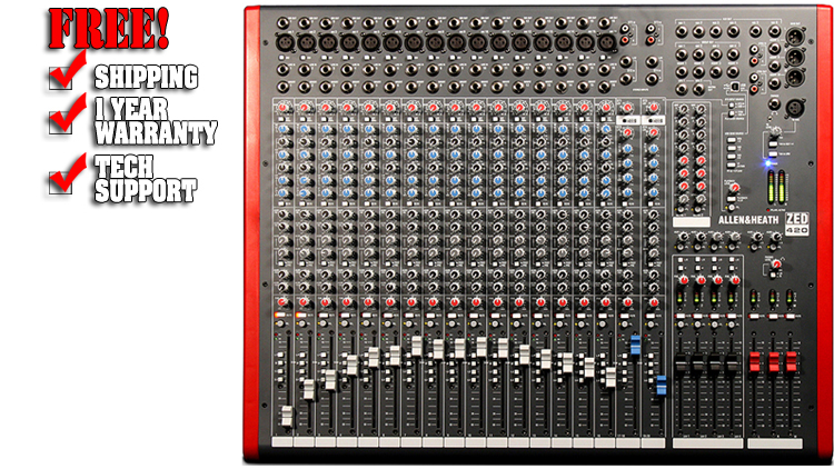allen and heath zed 420 manual