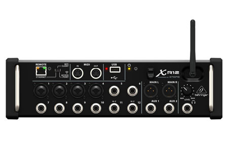 Behringer XR12 X Air 12-Input Digital Mixer
