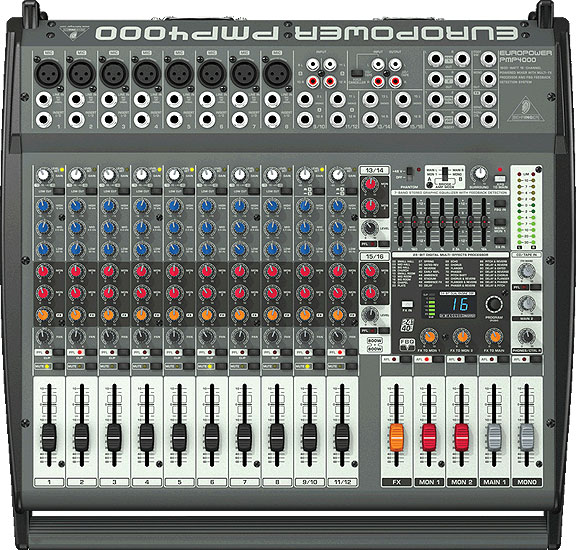 behringer pmp4000 dj amplifiers dj equalizers chicago dj equipment. Black Bedroom Furniture Sets. Home Design Ideas