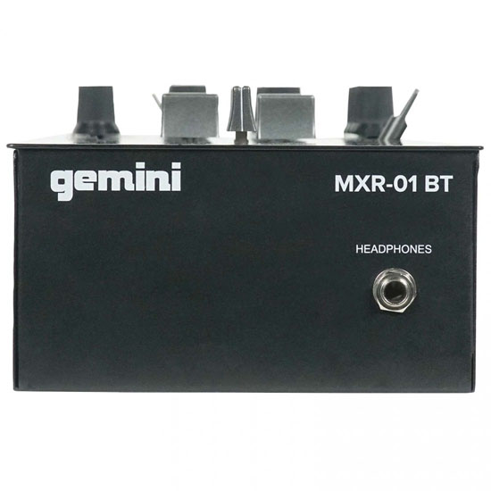 Gemini MXR01BT and (2) Gemini TT-4000 DJ Turntables Package