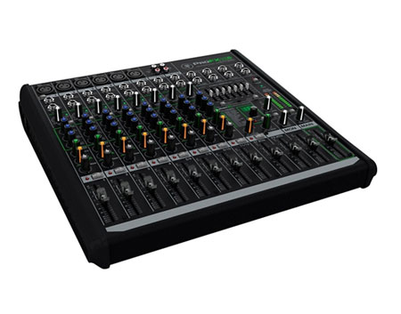 Mackie profx12v2 dj mixers dj equipment for Firewire mixer motorized faders