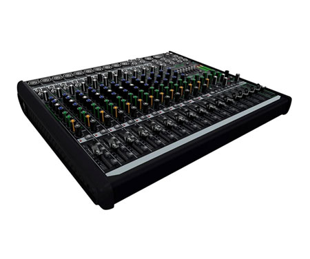 Mackie profx16v2 dj mixers dj equipment for Firewire mixer motorized faders