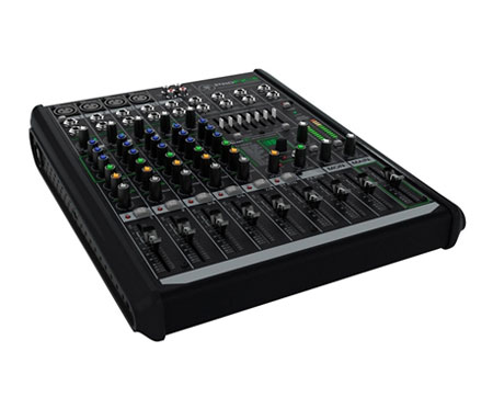 Mackie profx8v2 dj mixers dj equipment for Firewire mixer motorized faders