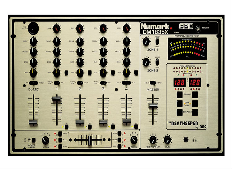 Numark Dm1835x Dj Mixers Dj Equipments 123dj Com