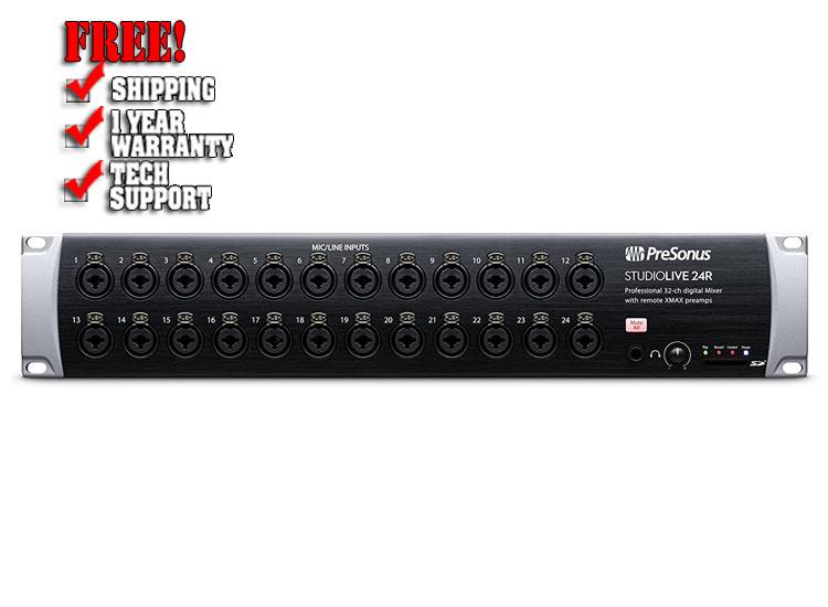 PreSonus StudioLive 24R 24 Channel Rackmount Digital Mixer
