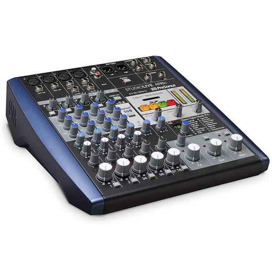 PreSonus StudioLive AR8c 8-Channel USB-C Hybrid Digital/Analog Performance Mixer