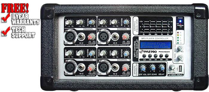 Pyle Pro PMX402M