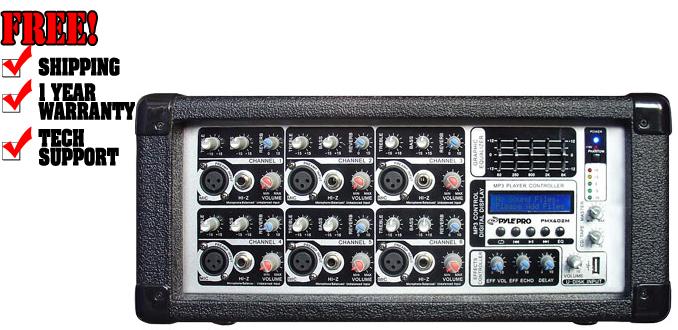 Pyle Pro PMX602M