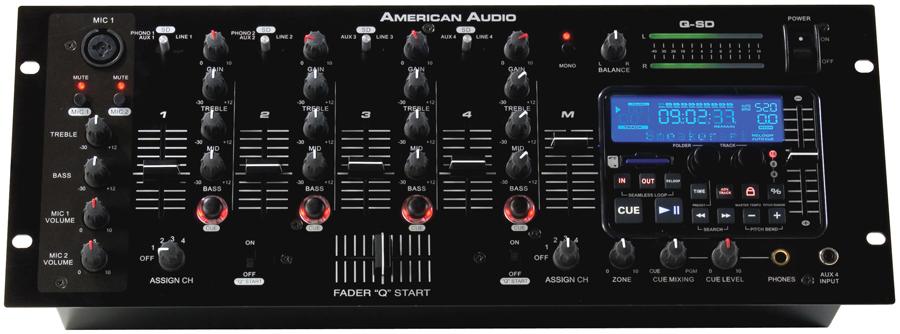 Q SD DJ Mixers DJ Equipment 123DJ