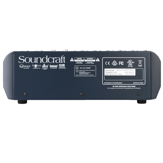 Soundcraft Signature 10 Mixer with Effects