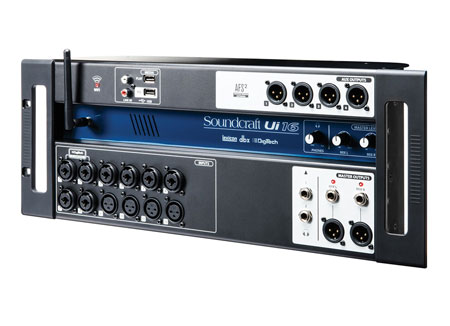 Soundcraft UI-16 Digital PA Mixer
