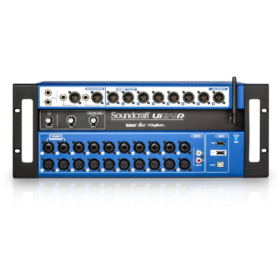 Soundcraft Ui24R 24-channel Remote-controlled Digital Mixer