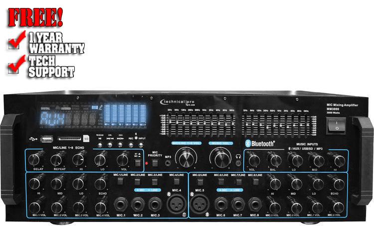 Technical Pro MM3000 Power Mixer