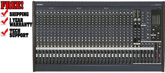 yamaha mg32 14fx dj powered mixer dj audio chicago dj