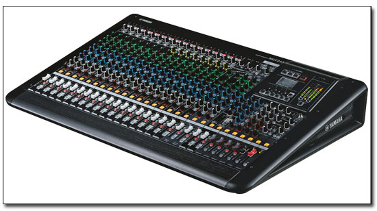 yamaha mgp24x dj powered mixer dj audio chicago dj equipment 123dj. Black Bedroom Furniture Sets. Home Design Ideas