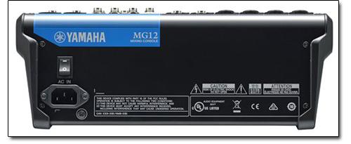 Yamaha mg12 12 input live sound console mixer for Yamaha live console