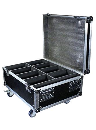 (16) Blizzard Lighting SkyBox EXA RGBAW+UV LED Par Lights & Cases Package