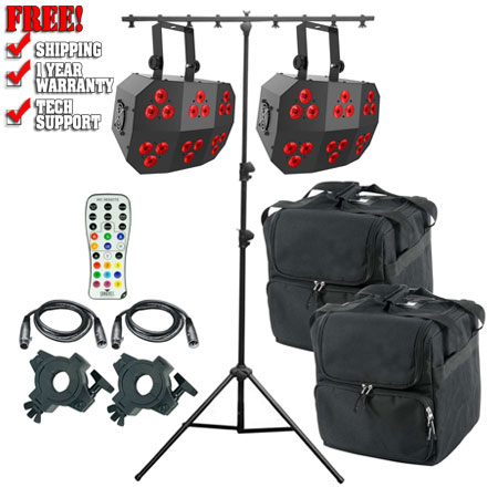 Chauvet DJ Wash FX 2 Dance Pack