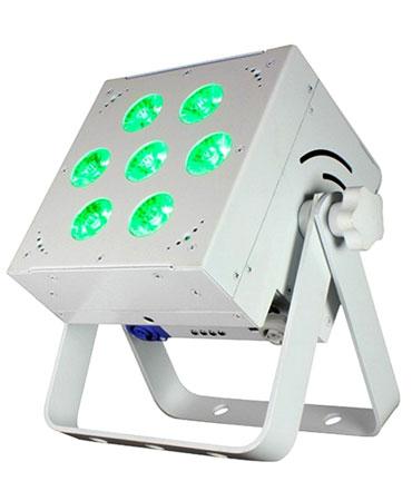 (24) Blizzard Lighting SkyBox EXA White LED Par Lights & Cases Package