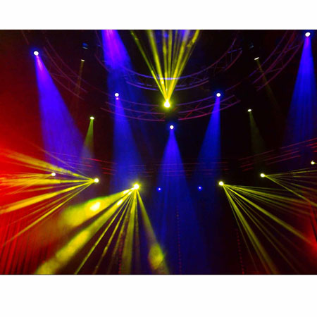 Chauvet Dj Intimidator Spot 355 Irc Feature Packed Moving