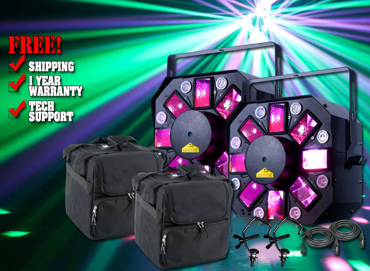 American DJ Stinger II Duo Pack