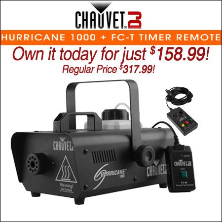 Chauvet DJ Hurricane 1000 + FC-T Timer Remote