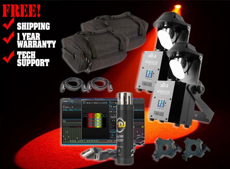 Chauvet DJ Intimidator Scan 305 IRC Duo Package