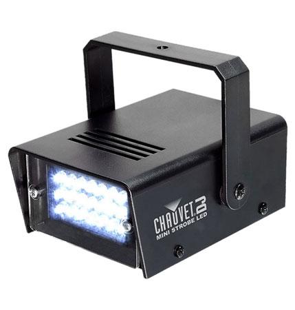 CHAUVET DJ Swarm Wash FX + Strobe Lights + Clamps + Safety
