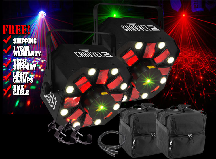 Chauvet Swarm 5FX Two Pack