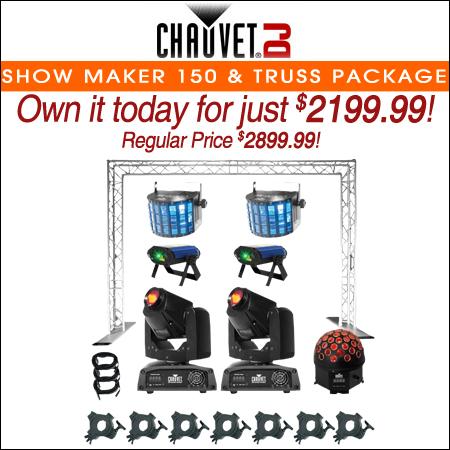 Chauvet DJ Show Maker 150 Professional Lighting & Truss Package