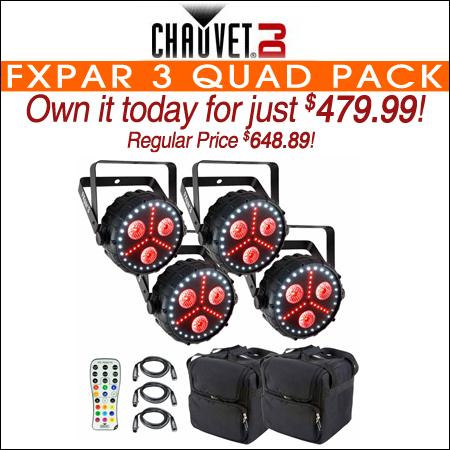 Chauvet DJ FXpar 3 Quad Pack