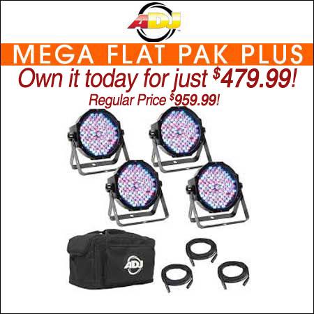 American DJ Mega Flat Pak Plus