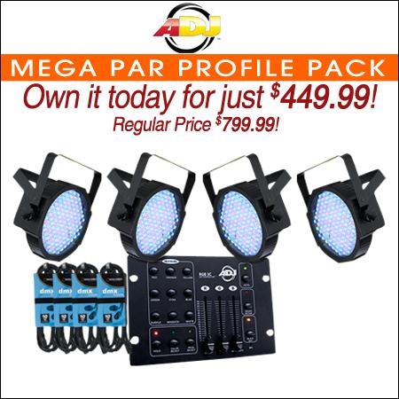 American DJ Mega Par Profile Pack