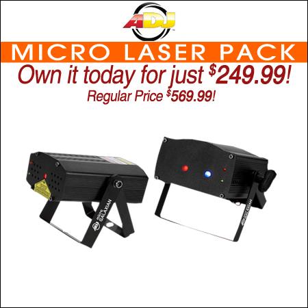 ADJ Micro Laser Pack