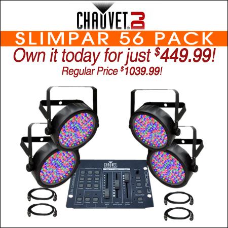 Chauvet SlimPar 56 Pack