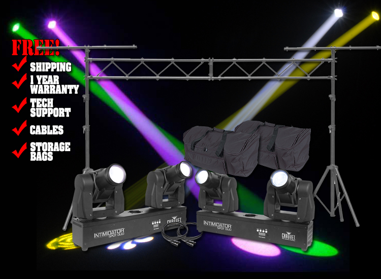 Chauvet DJ Intimidator Spot Duo Pack