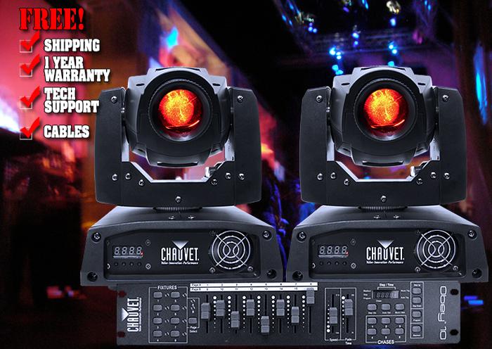 DJ Chauvet Intimidator Spot LED 150 Pack