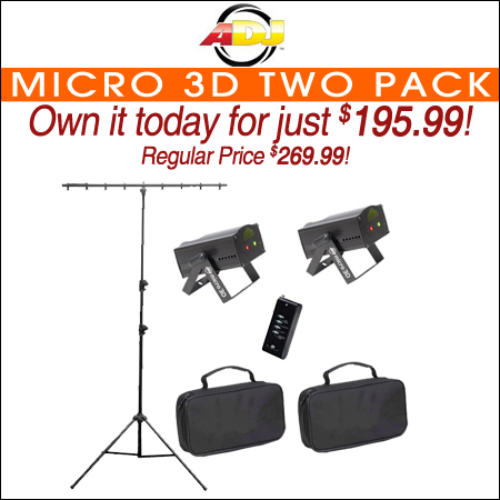 Micro 3D Two Pack