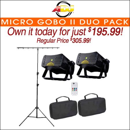 Micro Gobo II Duo Pack