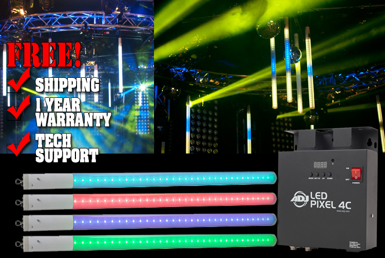 American DJ LED Pixel Tube 360 System