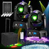 American DJ Focus Spot Duo Mobile Pack