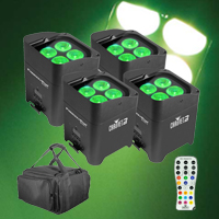 Chauvet DJ Freedom Par Quad-4 Pack