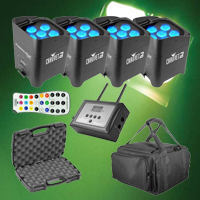 Chauvet DJ Freedom Par Tri-6 Mobile Pack