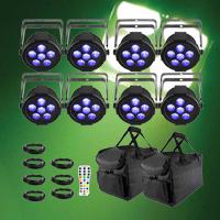 Chauvet DJ slimPAR H6 USB Mobile Pack