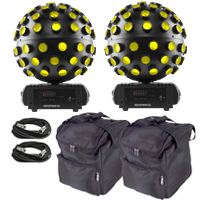 Chauvet DJ Rotosphere Q3 White Two Pack