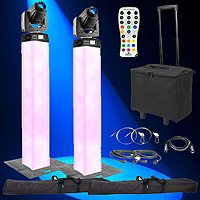 Chauvet DJ Intimidator Spot 255 IRC & Lighting Tower Duo Package