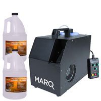 Marq Lighting Haze 800 With 2 Gallons Of Fluid Package