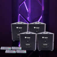 TrussPar QUAD 3 Four Pack