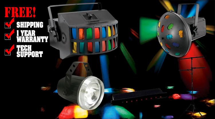 Mobile DJ Light Pack